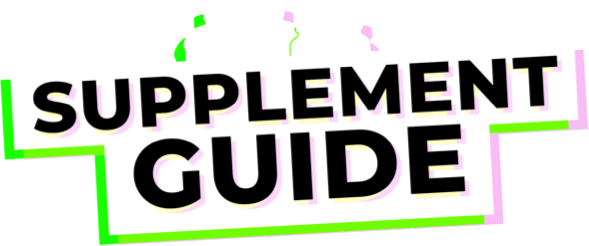 Supplement Guide Logo