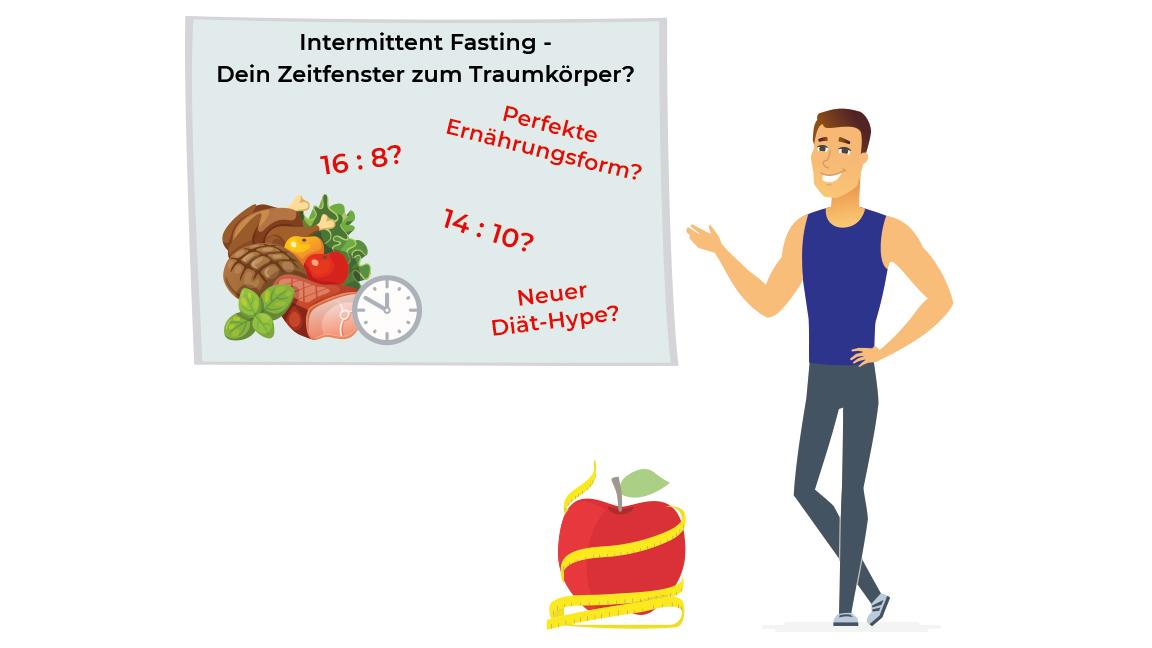 Intermittent Fasting- Dein Zeitfenster zum Traumkörper..